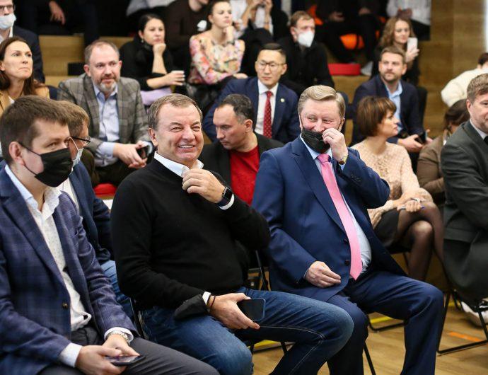 Сергей Иванов и Сергей Кущенко приняли участие в презентации нового сезона АСБ